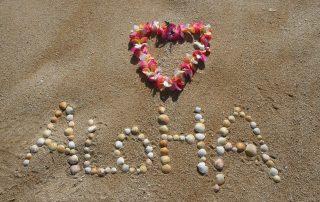 ALOHA – kärlek är att vara lycklig med