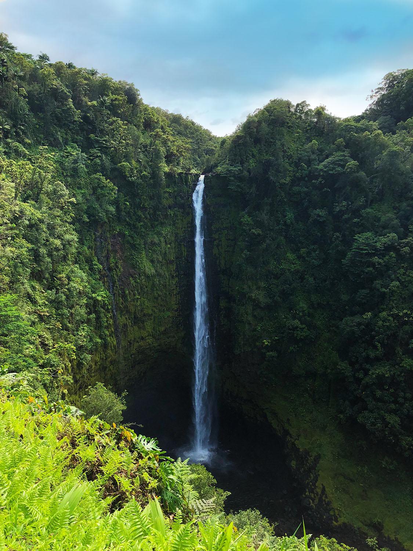Hawaii resa vattenfall
