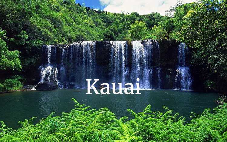 Kauai Vattenfall Hawaii